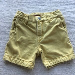 Seven 7 For All Mankind Baby Boy Shorts Yellow